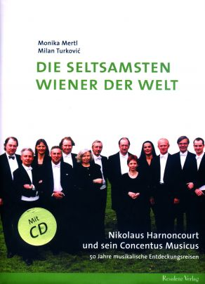 "Coverabbildung von ""The strangest Viennese in the world - Nikolaus Harnoncourt and his Concentus Musicus"""