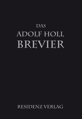 """Coverabbildung von """"Das Adolf-Holl-Brevier"""""""