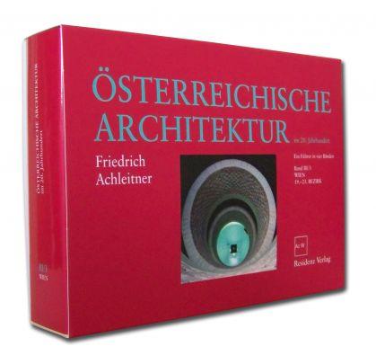 """Coverabbildung von """"Österreichische Architektur im 20. Jahrhundert III/3"""""""