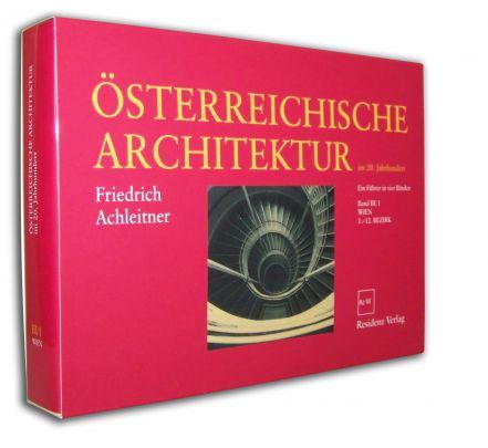 """Coverabbildung von """"Österreichische Architektur im 20. Jahrhundert III/1"""""""