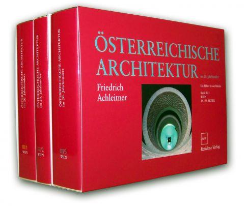 """Coverabbildung von """"Österreichische Architektur im 20. Jahrhundert"""""""