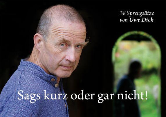 """Coverabbildung von """"Sags kurz oder gar nicht!"""""""