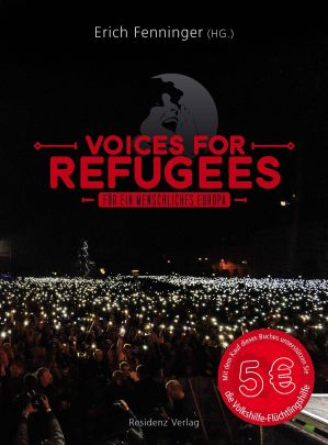 "Coverabbildung von ""Voices for Refugees"""