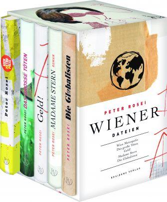 """Coverabbildung von """"Wiener Dateien"""""""
