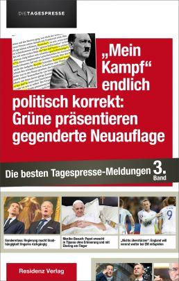 """Coverabbildung von """"""""Mein Kampf"""" endlich politisch korrekt: Grüne präsentieren gegenderte Neuauflage"""""""