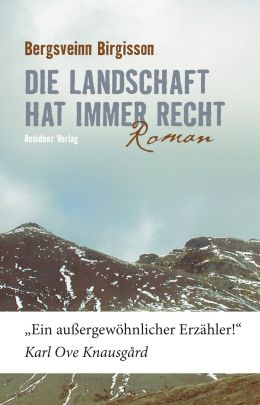 """Coverabbildung von """"Die Landschaft hat immer recht"""""""