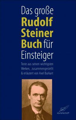 """Coverabbildung von """"Das große Rudolf Steiner Buch für Einsteiger"""""""