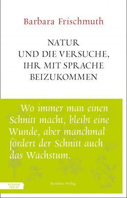 """Coverabbildung von """"Natur und die Versuche, ihr mit Sprache beizukommen"""""""